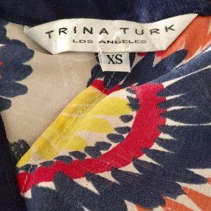Trina Turk Tops - Trina Turk Boho Tunic NICE XS